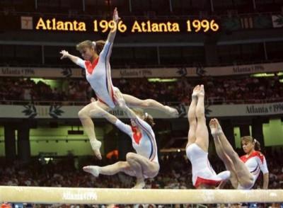 1996-ban Atlantában még filmre készültek a multi expós képekFotó: Mike Blake/Reuters