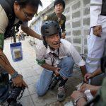 Meglőtték James Nachtweyt, de jól van<br>miután ellátták, folytatja a tudósítást Thaiföldön