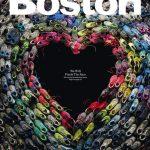 Bostoni futók cipői a magazin címlapján