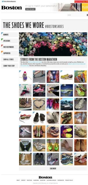 Külön olal a cíipőknekScreenshot: Boston Magazine
