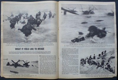 Robert Capa's images in Picture Post