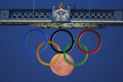 A Londoni Olimpia idején csak telihold voltFotó: Luke MacGregor/Reuters