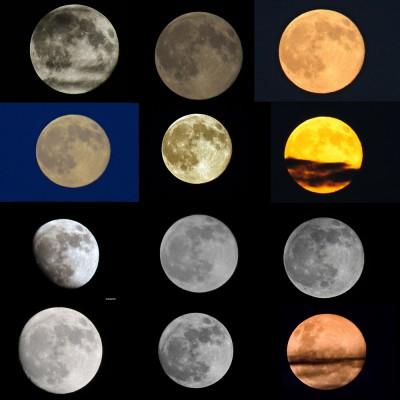 Telihold fotók a Holdfotózás Index Fórum látogatóinak képein