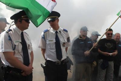 Erről a képről kimondta az Alkotmánybíróság, hogy publikálható a rendőrök engedélye nélkülFotó: Barakonyi Szabolcs/Index