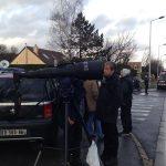 Óriástelével fényképezték a francia túszdrámát