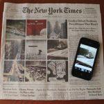 Olvasók Instagram képei a NY Times címlapján