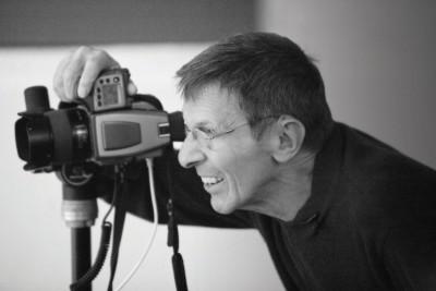 Leonard Nimoy fotózás közbenFotó: Seth Kaye