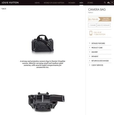 Louis Vuiton fotóstáska 1 millió forintértVásárláshoz katt a képre!