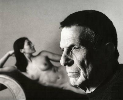 Leonard Nimoy önarcképeFotó: Leonard Nimoy/R. Michelson Galleries