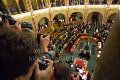 Az unalmasabb üléseken nincs ekkora lökdösődésFotó: Völgyi Attila / blog.volgyiattila.hu