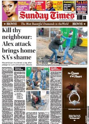 A címlapon megjelent történetFotó: James Oatway/Sunday Times
