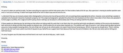Sületlenségeket írkáló Facebook képviselő levele