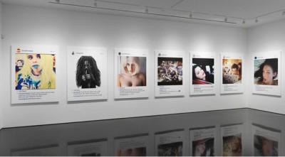 Richard Prince kiállítása mások Instagram képeibőlFotó: Gargosian Gallery, NY