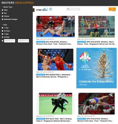 Az ingyenes Reuters Media Express felületKipróbáláshoz katt a képre!