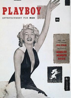 Marilyn Monroe elsőPlayboycímlapja