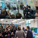 Választási képpár: Orbán Viktor miniszterelnök szavaz
