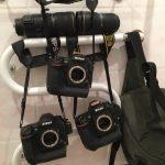 Így szárítja a fényképezőgépét egy fotós a Foci VB-n