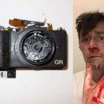 Véresre vert streetfotós egy elkapott pillanatkép miatt