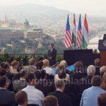 Bush elnök Budapesten tartott beszédet