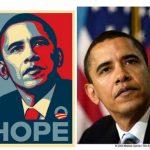 """Megállapodás Obama """"hope"""" fotó ügyben"""