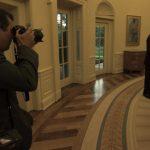 Fehér Házi fotós a tévében