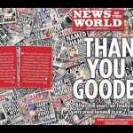 Köszönjük és Viszlát – News of the World búcsú