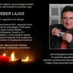 Búcsú Weber Lajostól