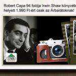 Robert Capa könyv akciós kedvezménnyel