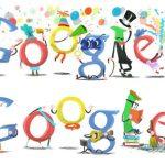 A Google is a maga módján kíván boldog új évet