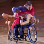 Kerekesszékes tánc a világbajnokságon