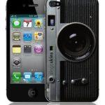 Fényképezőgép formájú iPhone5 tok