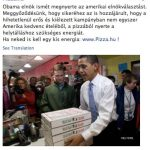 A pizza szeretete miatt nyerhetett Obama?