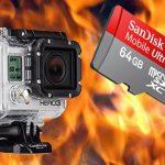 Újabb GoPro hiba: Megsül a 64GB MicroSD