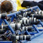 Atlétika fotózás távvezérelt fényképezőgépekkel