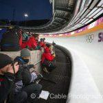 Téli olimpiát fényképezni nehéz munka