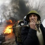 Magyar fotósok jelentik a lángoló Kijevből