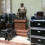Instakép: A Marx szobor már csomagol