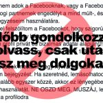 Hülyeség terjed a Facebookon szerzői jogokról