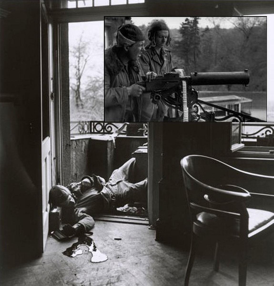 Az utolsó halott katona - Fotó: Robert Capa