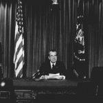 Így tiltakozott Nixon az utolsó elnöki fotója miatt