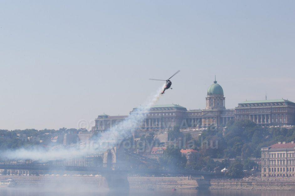 Augusztus 20-ai légiparádé Budapesten 2018